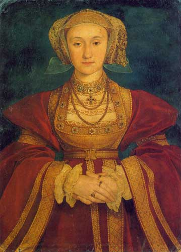 Anne of Cleves, briefly 4th Queen to King Henry V111