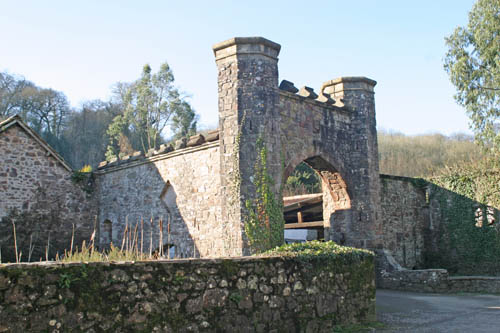 The keep at Bickleigh Castle