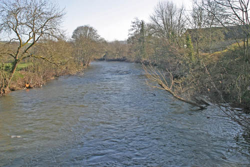River Exe near Bickleigh Castle