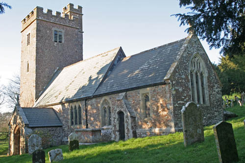 St. Michael's church at Cadbury