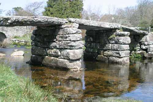 clapperbridge at Postbridge