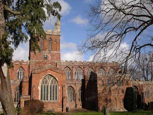 St. Boniface church Crediton