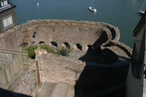 King Henry the Eighth's fort at Dartmouth