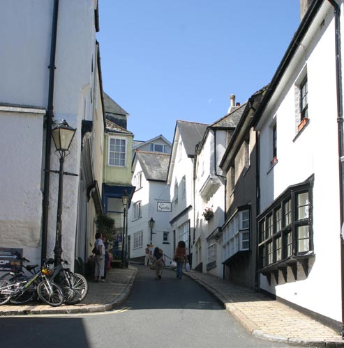 small lane in Dartmouth