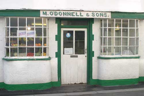 old-fashioned shop in Hartland