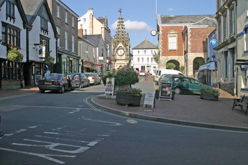 Main square in Torrington